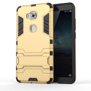 Outdoor odolný kryt na mobil Honor 5X - zlatý - 1