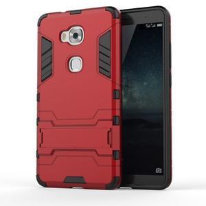 Outdoor odolný kryt na mobil Honor 5X - červený - 1