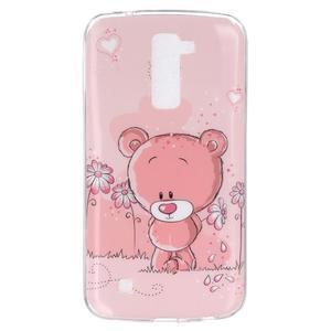 Fony gelový obal na mobil LG K10 - medvídek - 1