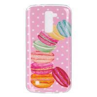 Fony gelový obal na mobil LG K10 - makronky - 1/4