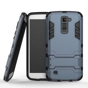 Odolný kryt na mobil LG K10 - tmavěmodrý - 1