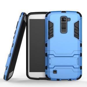 Odolný kryt na mobil LG K10 - světlemodrý - 1