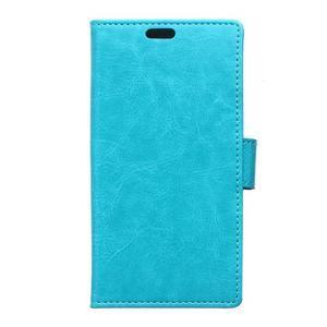 Leat peněženkové pouzdro na LG K4 - modré - 1