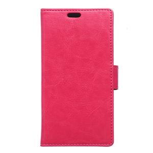 Leat peněženkové pouzdro na LG K4 - rose - 1