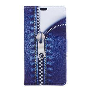 Style peněženkové pouzdro na LG K4 - jeans - 1