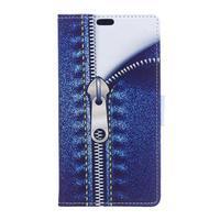 Style peněženkové pouzdro na LG K4 - jeans - 1/5