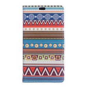 Style peněženkové pouzdro na LG K4 - tribal - 1