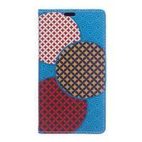 Style peněženkové pouzdro na LG K4 - kruhy - 1/5