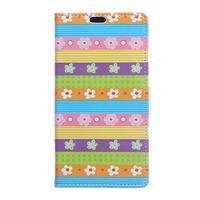 Style peněženkové pouzdro na LG K4 - barevné květiny - 1/5