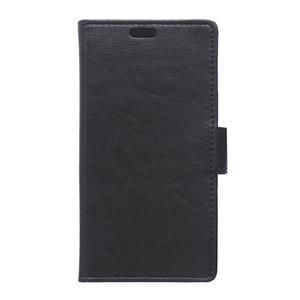 Leat peněženkové pouzdro na LG K4 - černé - 1