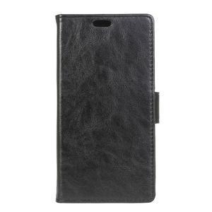 Sitt PU kožené pouzdro na mobil LG Zero - černé - 1