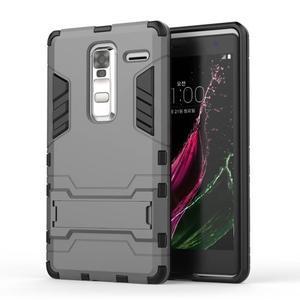 Outdoor odolný kryt na mobil LG Zero - šedý - 1