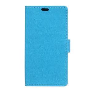 Wallet pouzdro na mobil Lenovo A1000 - modré - 1