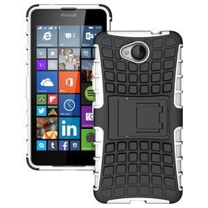 Outdoor odolný obal na mobil Microsoft Lumia 650 - bílý - 1