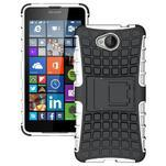 Outdoor odolný obal na mobil Microsoft Lumia 650 - bílý - 1/5