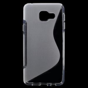S-line gelové obal na mobil Samsung Galaxy A3 (2016) - transparentní - 1