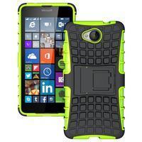 Outdoor odolný obal na mobil Microsoft Lumia 650 - zelený - 1/5