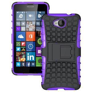 Outdoor odolný obal na mobil Microsoft Lumia 650 - fialový - 1