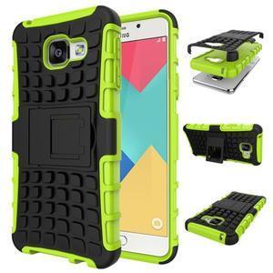 GT odolný obal na mobil Samsung Galaxy A3 (2016) - zelený - 1