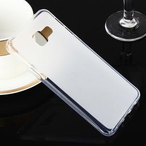 Matný gelový obal pro Samsung Galaxy A3 (2016) - bílý - 1