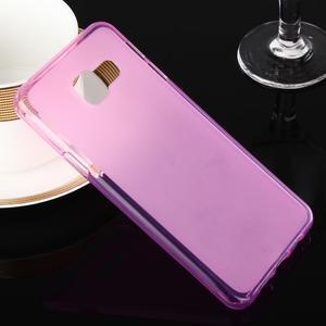 Matný gelový obal pro Samsung Galaxy A3 (2016) - růžový - 1