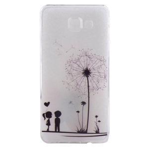 Ultratenký gelový obal na mobil Samsung Galaxy A3 (2016) - dandelion - 1