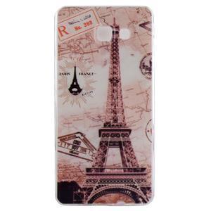 Ultratenký gelový obal na mobil Samsung Galaxy A3 (2016) - Eiffelova věž - 1