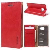 Mercury peněženkové pouzdro na Samsung Galaxy A3 (2016) - červené - 1/7