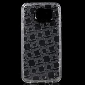 Square gelový obal na mobil Samsung Galaxy A3 (2016) - transparentní - 1