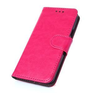 Wallet pouzdro na mobil Samsung Galaxy A3 (2016) - rose - 1