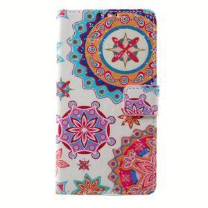 Peňaženkové puzdro pre mobil Lenovo A536 - mandala - 1