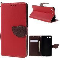 Blade peněženkové pouzdro na Sony Xperia M5 - červené - 1/7