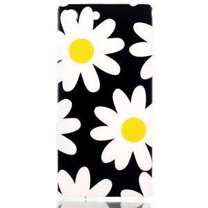 Style gelový obal pro Sony Xperia M5 - daisy - 1