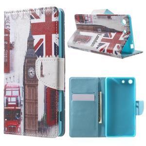 Stand peněženkové pouzdro na Sony Xperia M5 - UK Big Ben - 1