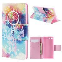 Crafty peněženkové pouzdro na Sony Xperia M5 - lapač snů - 1/7