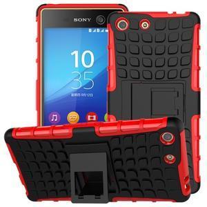 Outdoor odolný kryt na mobil Sony Xperia M5 - červený - 1
