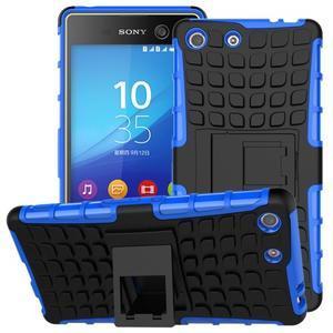Outdoor odolný kryt na mobil Sony Xperia M5 - modrý - 1