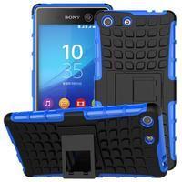 Outdoor odolný kryt na mobil Sony Xperia M5 - modrý - 1/2