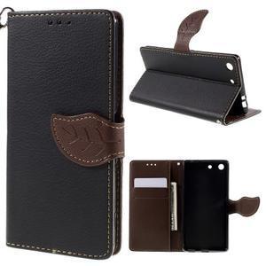 Blade peněženkové pouzdro na Sony Xperia M5 - černé - 1