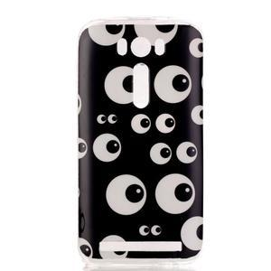 Softy gelový obal na mobil Asus Zenfone 2 Laser - očička - 1