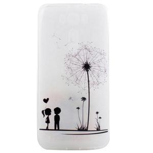 Softy gelový obal na mobil Asus Zenfone 2 Laser - láska - 1