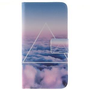 Peněženkové pouzdro pro mobil Honor 5X - triangl - 1
