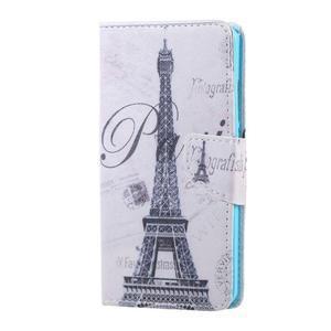 Knížkové pouzdro na mobil Honor 5X - Eiffelova věž - 1