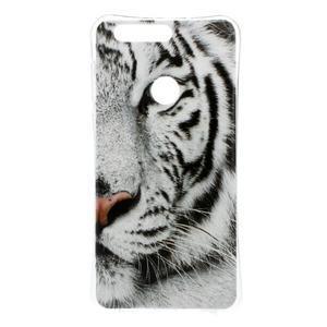 Emotive gelový obal na mobil Honor 8 - tygr - 1