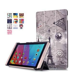 Třípolohové pouzdro na tablet Huawei MediaPad M2 8.0 - Eiffelova věž - 1