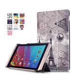 Třípolohové pouzdro na tablet Huawei MediaPad M2 8.0 - Eiffelova věž - 1/7