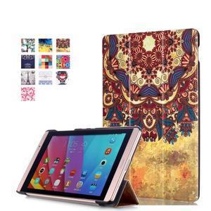 Třípolohové pouzdro na tablet Huawei MediaPad M2 8.0 - henna - 1