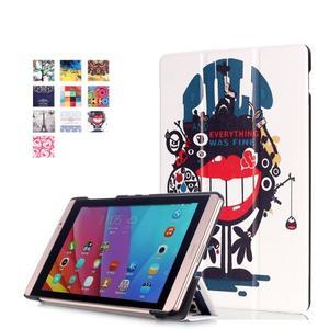 Třípolohové pouzdro na tablet Huawei MediaPad M2 8.0 - pulp - 1
