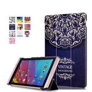 Třípolohové pouzdro na tablet Huawei MediaPad M2 8.0 - vintage - 1