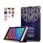Třípolohové pouzdro na tablet Huawei MediaPad M2 8.0 - vintage - 1/7